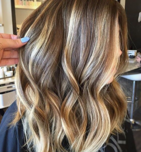 chunky, high contrast highlights